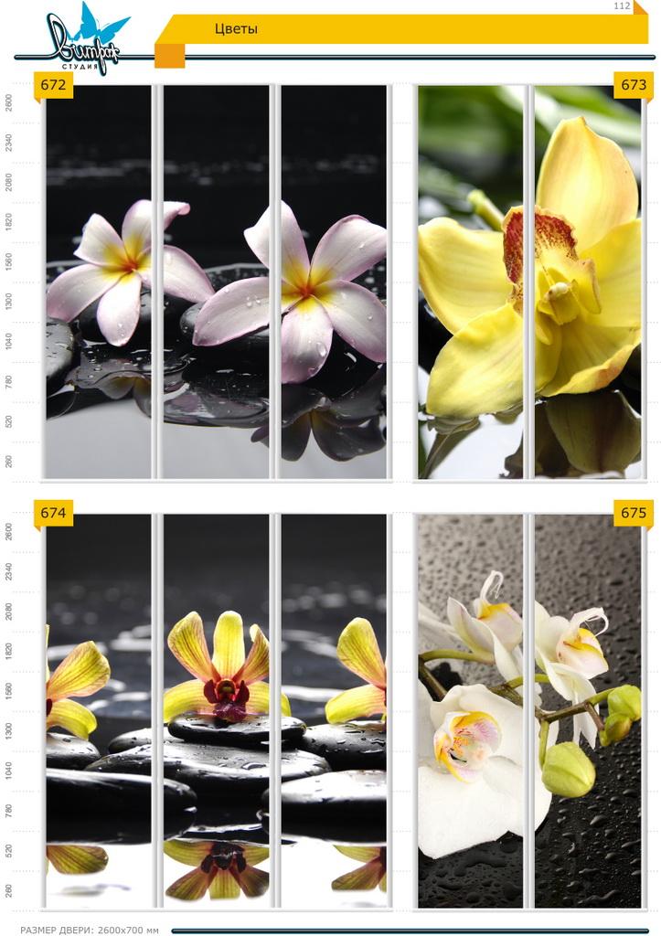 Изображение фотопечати для шкафов-купе, стр.112, цветы