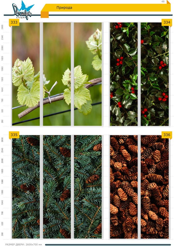 Изображение фотопечати для шкафов-купе, стр.48, природа
