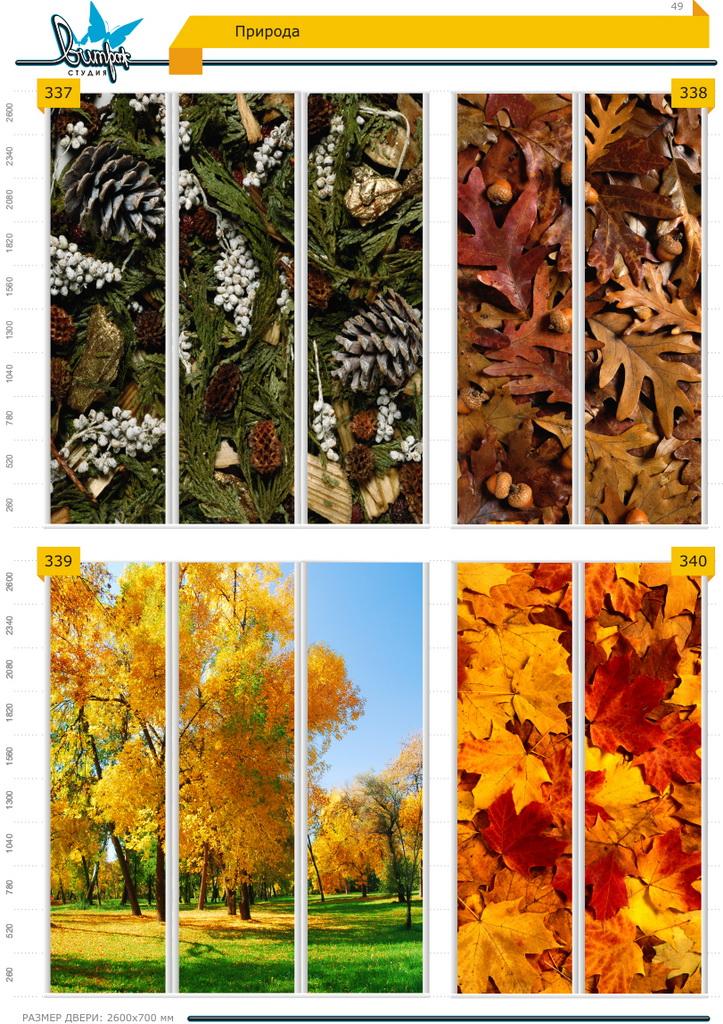 Изображение фотопечати для шкафов-купе, стр.49, природа