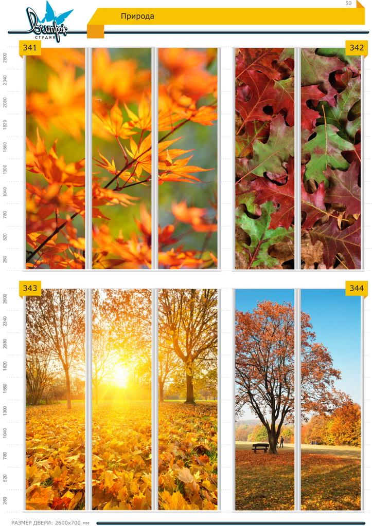 Изображение фотопечати для шкафов-купе, стр.50, природа