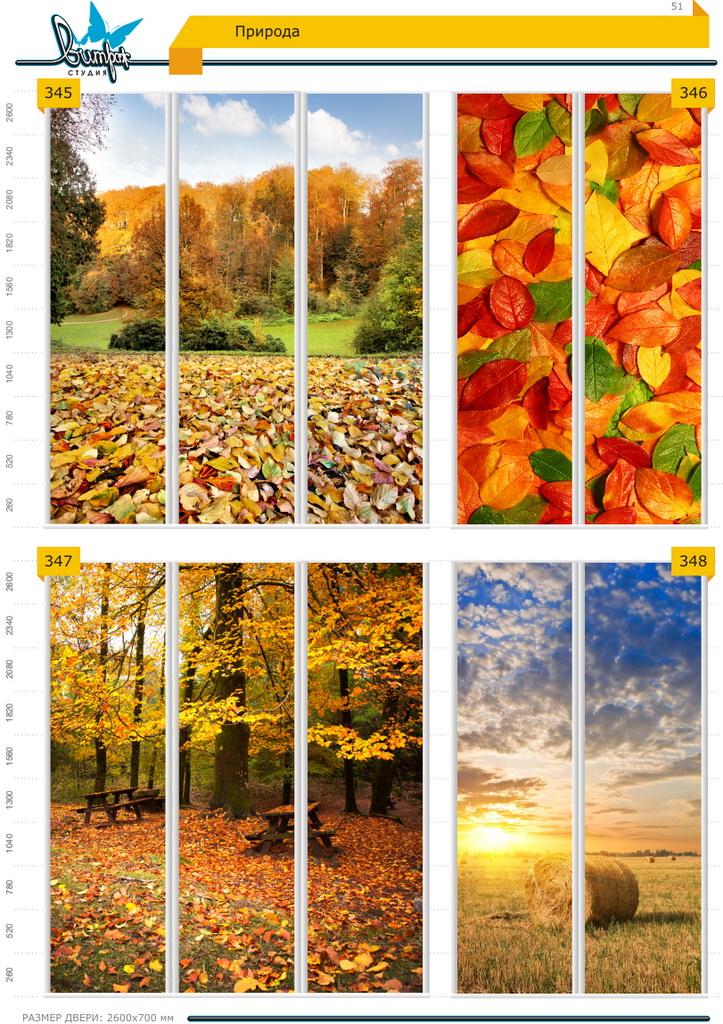 Изображение фотопечати для шкафов-купе, стр.51, природа